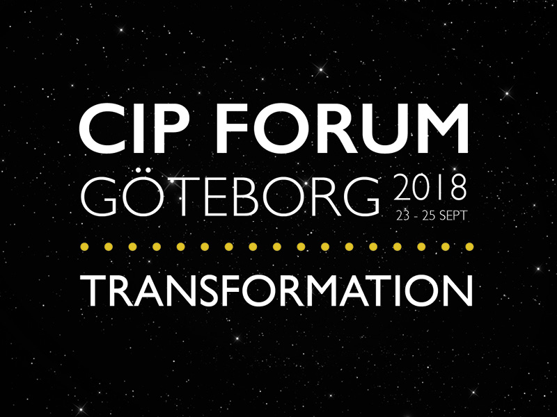 The Theme Of CIP FORUM 2018 – TRANSFORMATION