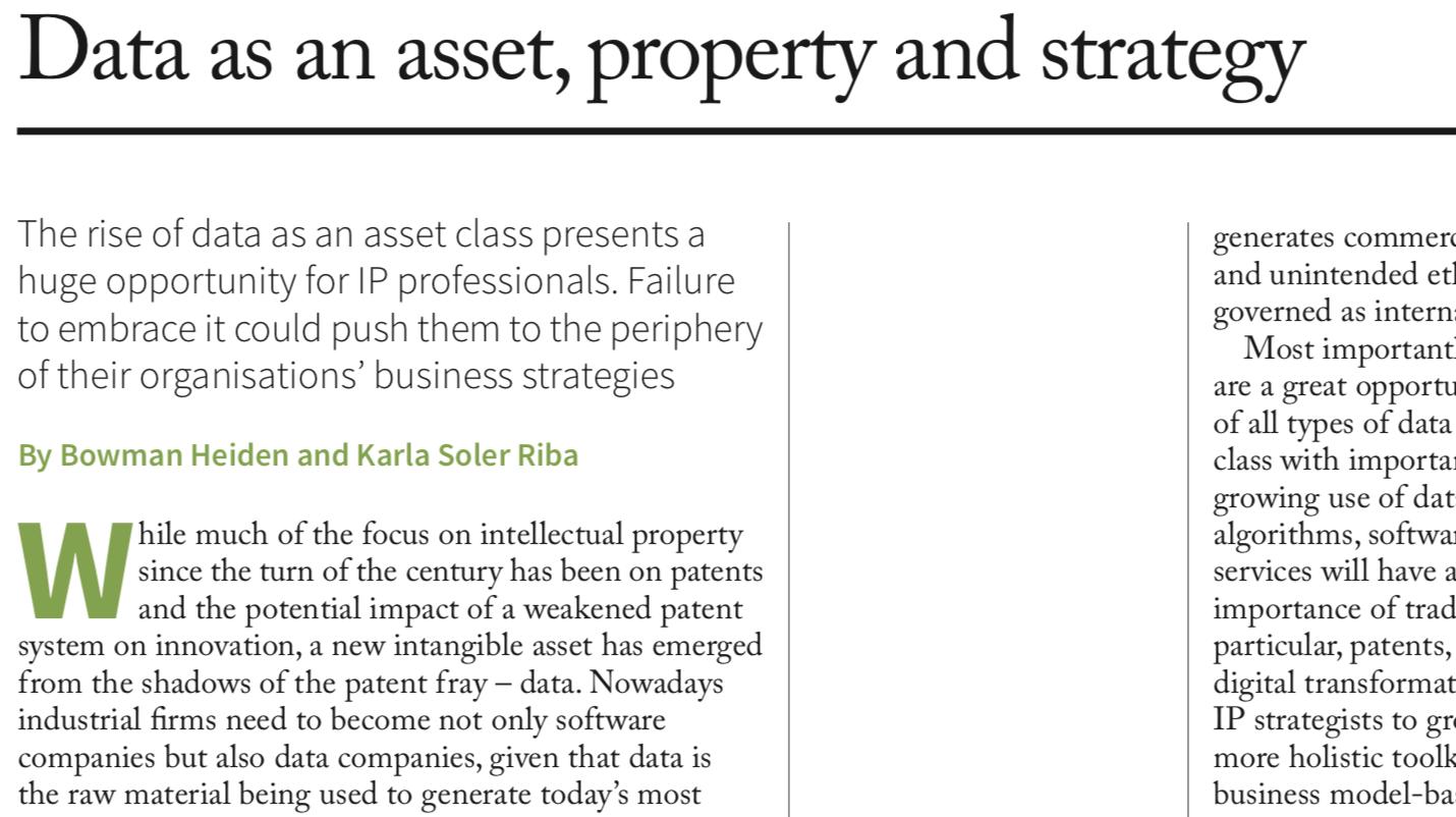 CIP Publishes Column In IAM Magazine
